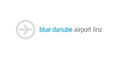 Blue Danube Flughafen Linz Logo
